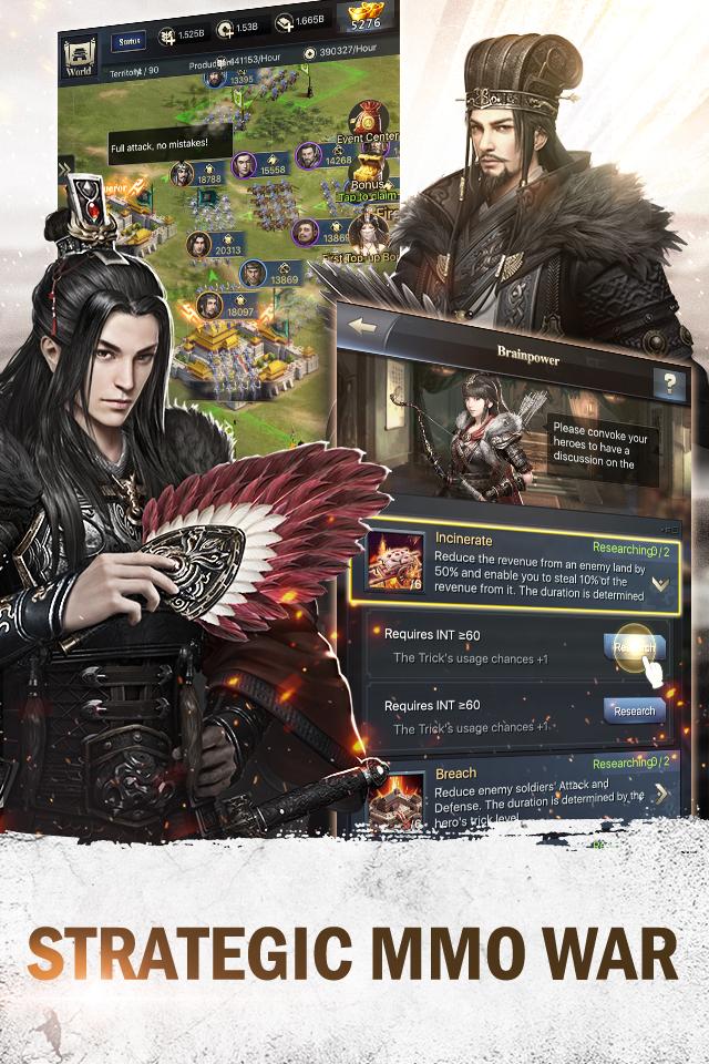 Rise of Dynasty: Three Kingdoms Website-Efun Game